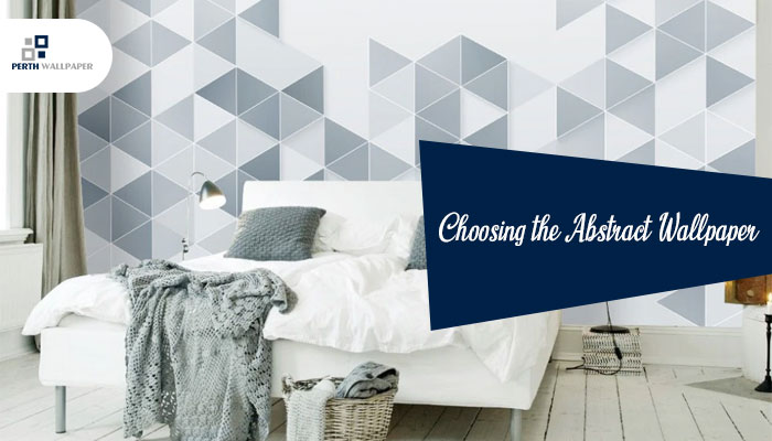 choosing the abstract wallpaper