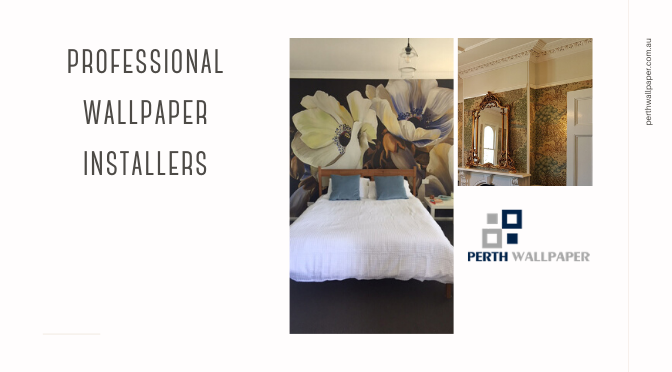 professional wallpaper installers Perth